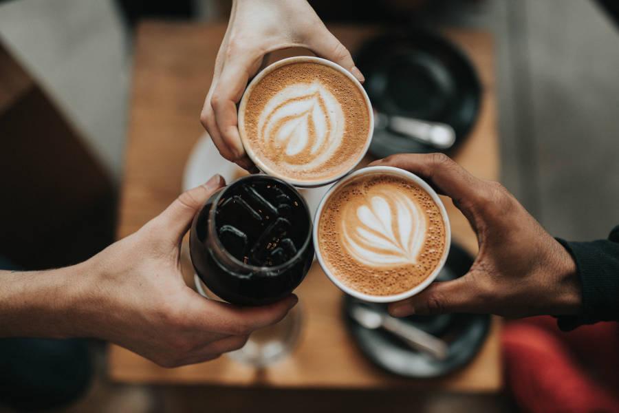 Coffee uber eats