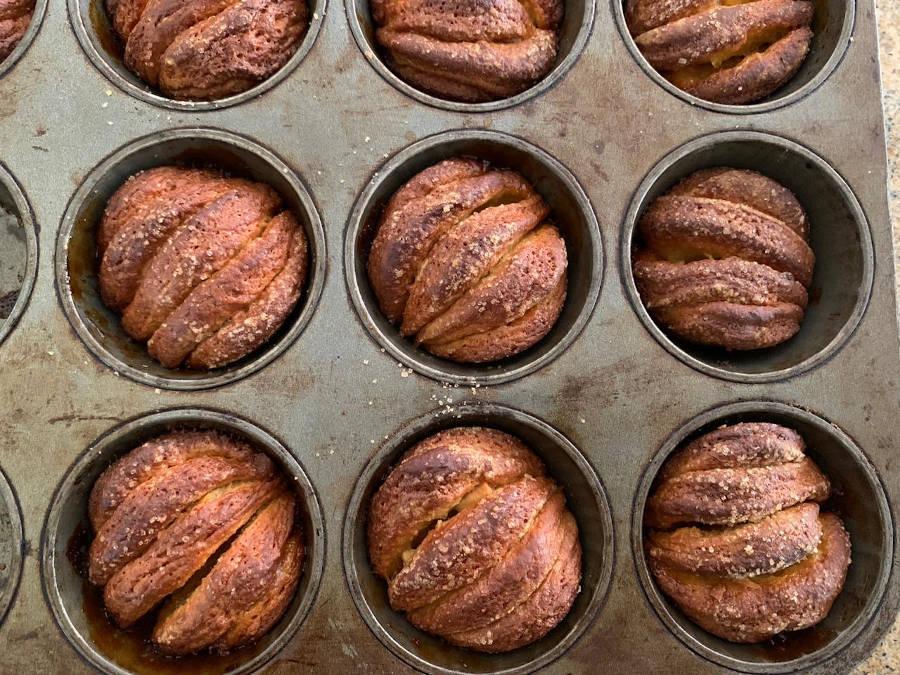 hite Chocolate & Marmalade Brioche Buns