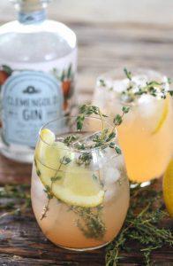 ClemenGold Gin Grapefruit Gimletn