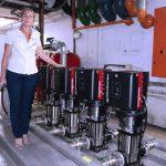 Hilton Hotel in Sandton upgrades pump