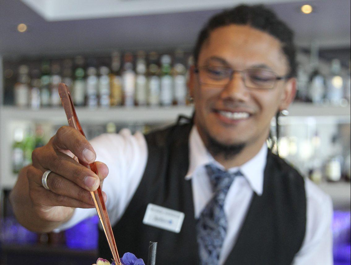 Meet Melrick Harrison: Radisson Blu Hotel Waterfront mixologist