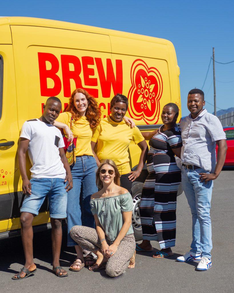 beverage Brew Kmobucha staff members