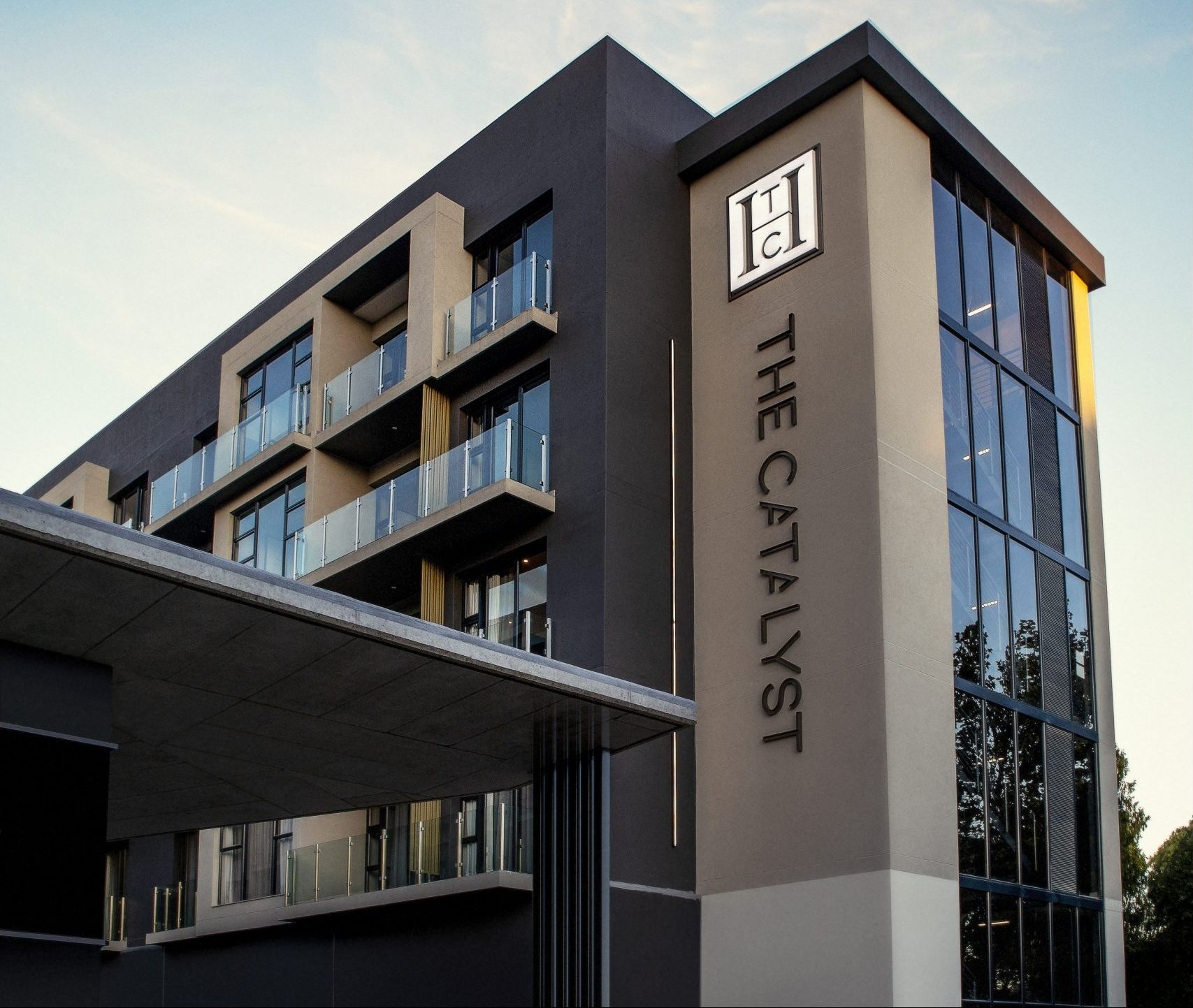 The Catalyst Hotel outside