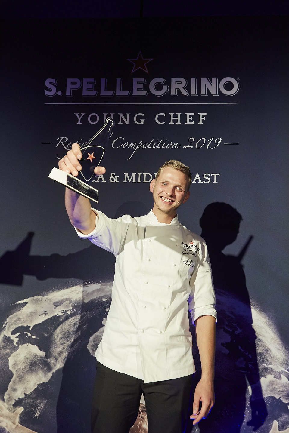 S.Pellegrino Young Chef Africa & Middle East 2019 winner Paul Thinus Prinsloo