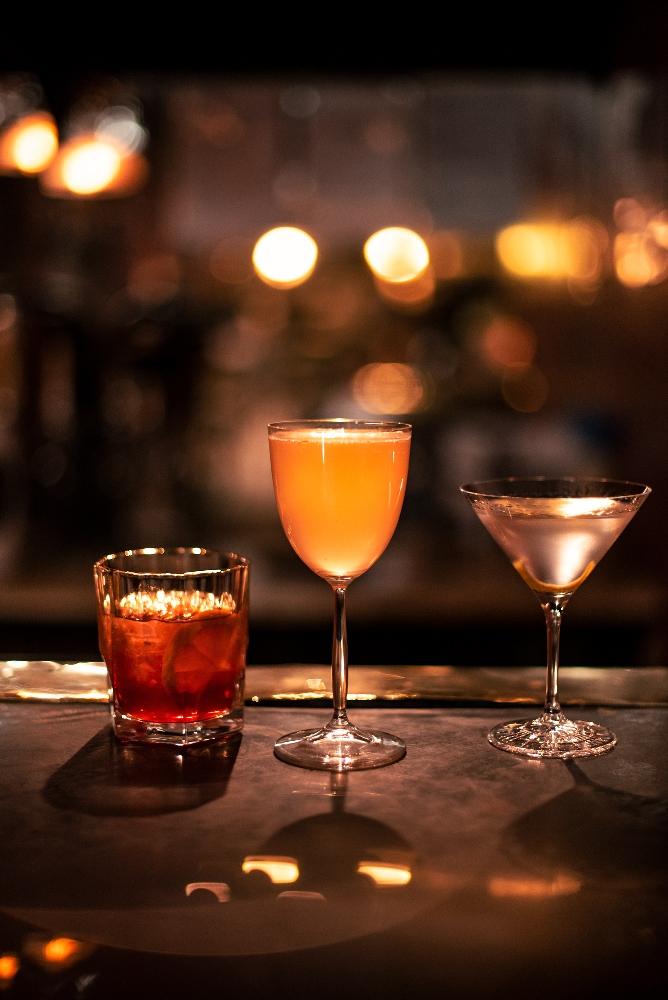 The Shortmarket Club JHB drinks