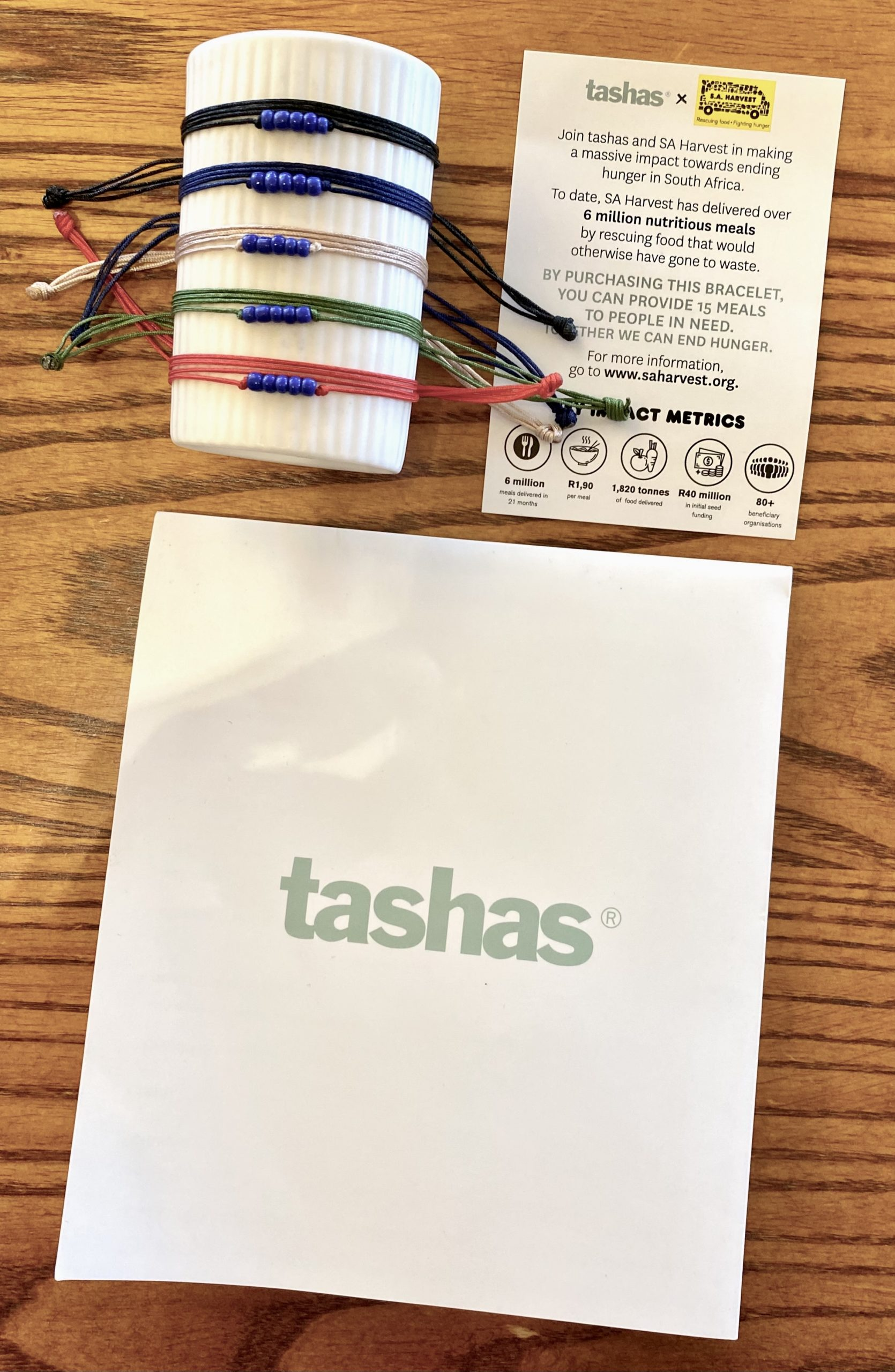 tashas, SA Harvest