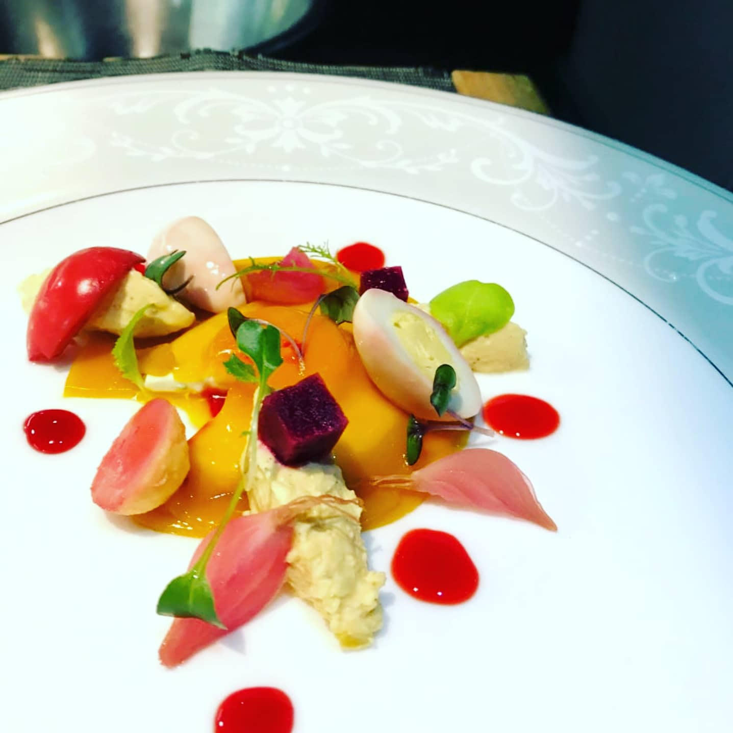 Dish by chef