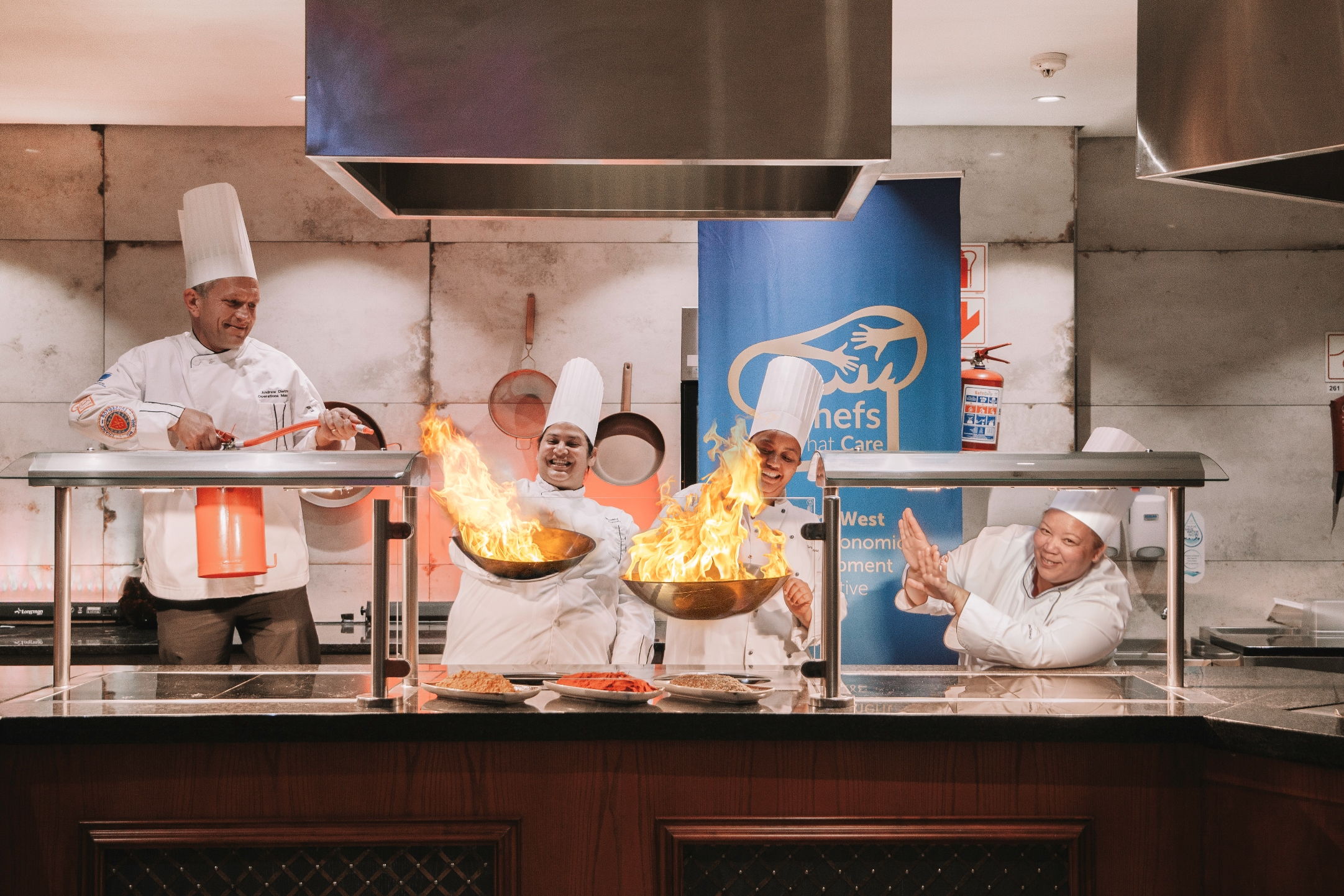 Rise Against Hunger - GrandWest 2021 chefs challenge